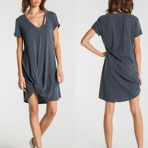 "n:Philanthropy ""Morrison Dress"" Gray V Neck"